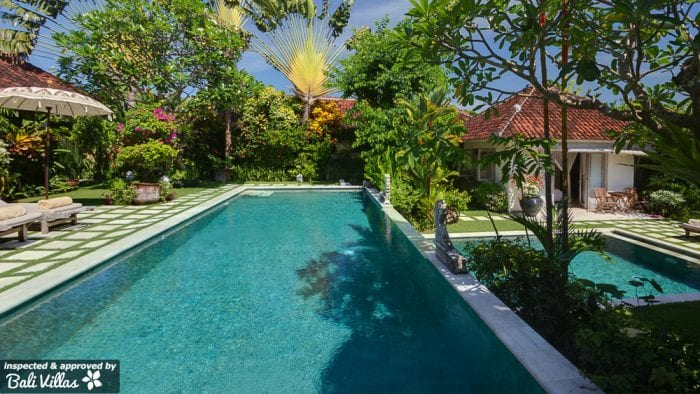 Bali Villas for families with pool