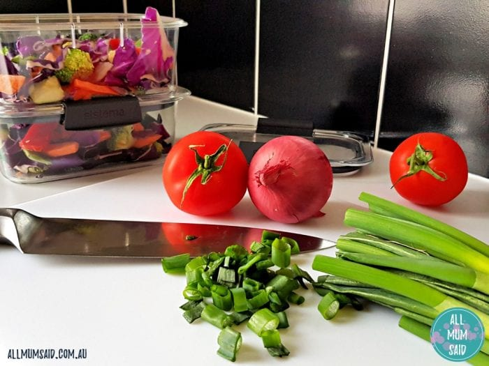 Sistema brilliance containers review with stir fry veg