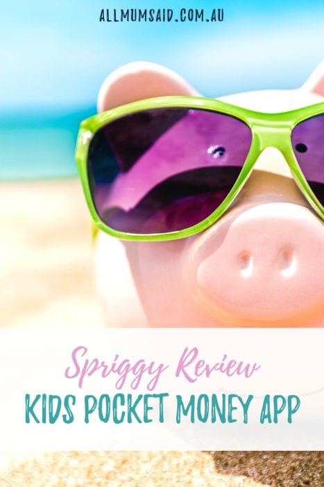 Pocket money and learning to save has been modernised. Check out this Spriggy review – Kids Pocket Money App to find out more. #pocketmoney #kids #personalfinance #money