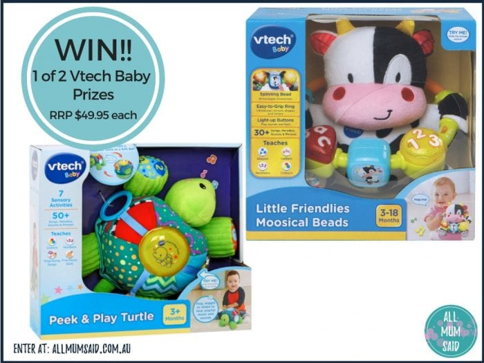 Christmas giveaway - Vtech Baby prize