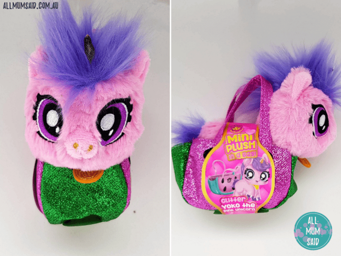 BFF mini plush in a bag