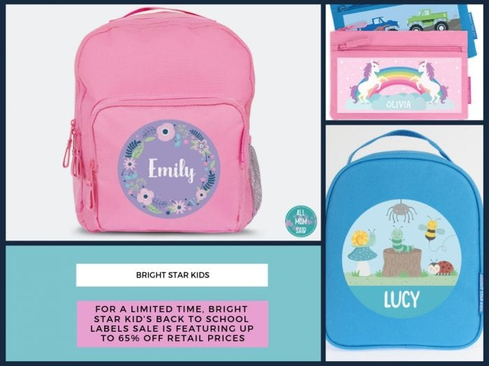 Bright star kids personalised products