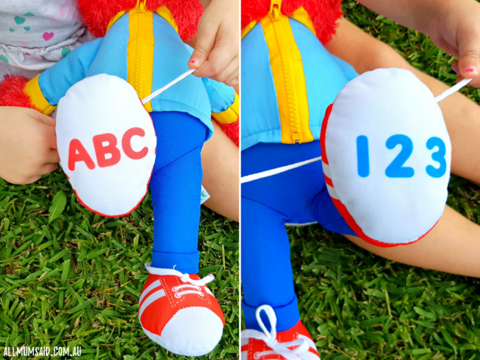 Ready for School Elmo review - ABC - 123