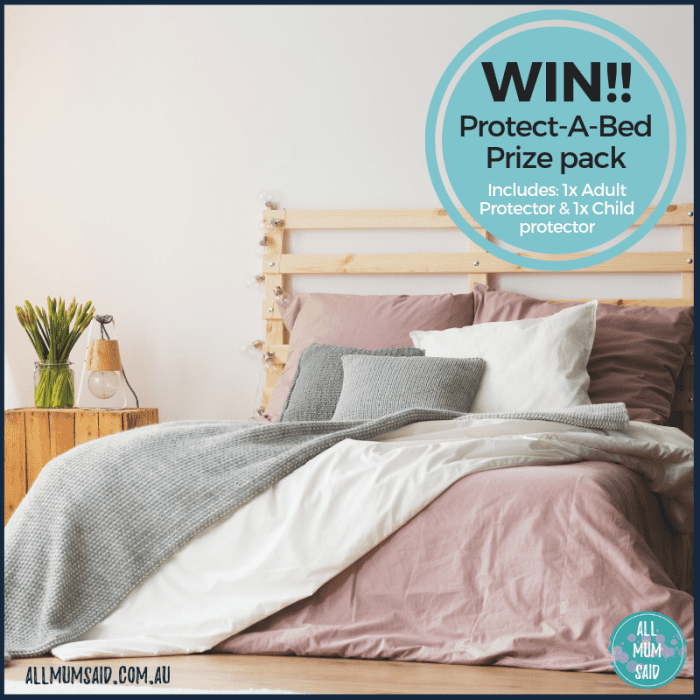 Protect-A-Bed prize giveaway