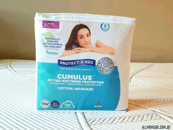 protect-a-bed mattress protector cotton jacquard