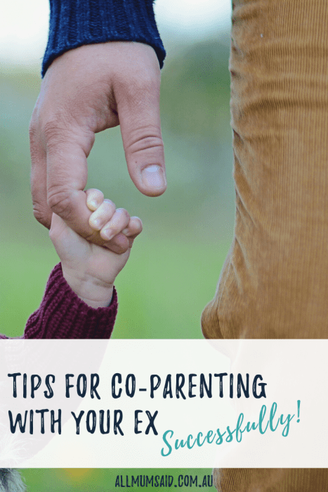 Tips for Co-Parenting with your Ex – Successfully! #parenting #family #kids #divorce