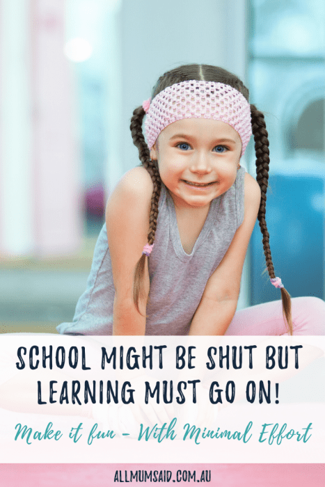 Need fun (but #educational) things to do with the #kids? Look no further. This list is perfect for #children of all ages and requires MINIMAL EFFORT from you! #education #parenting #homeschool #kids #teach #motherhood