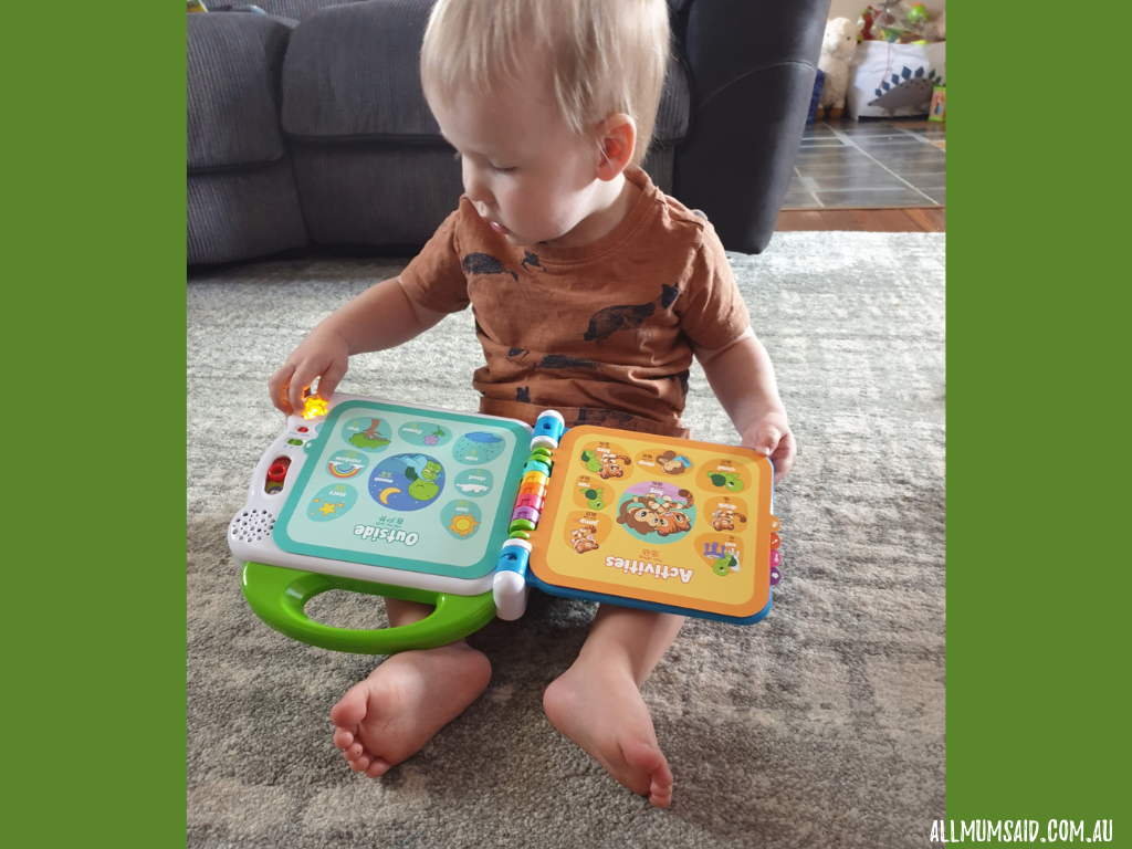 LeapFrog 100 words book review