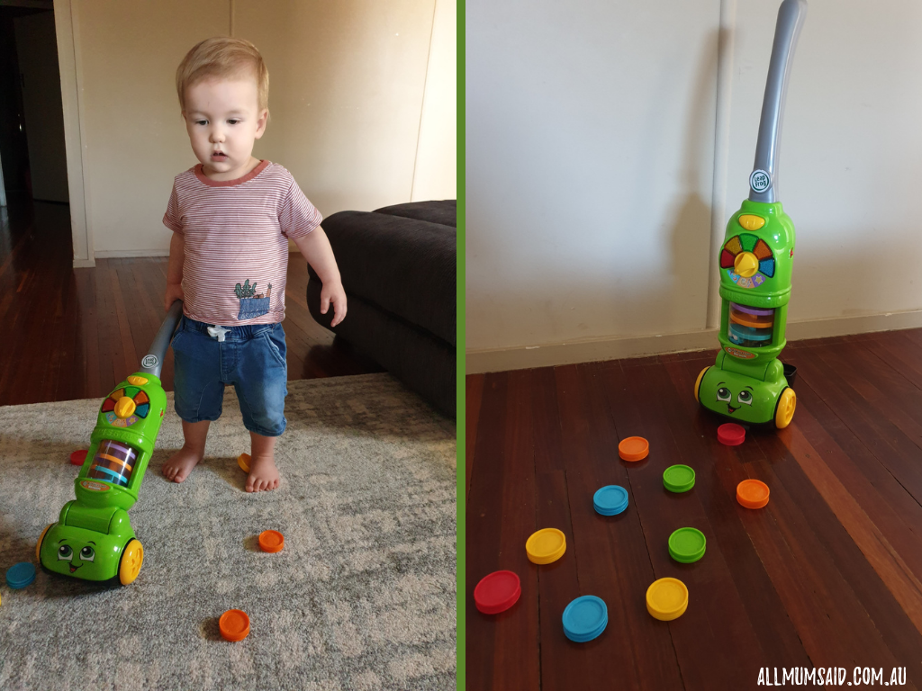 LeapFrog Vacuum cleaner review