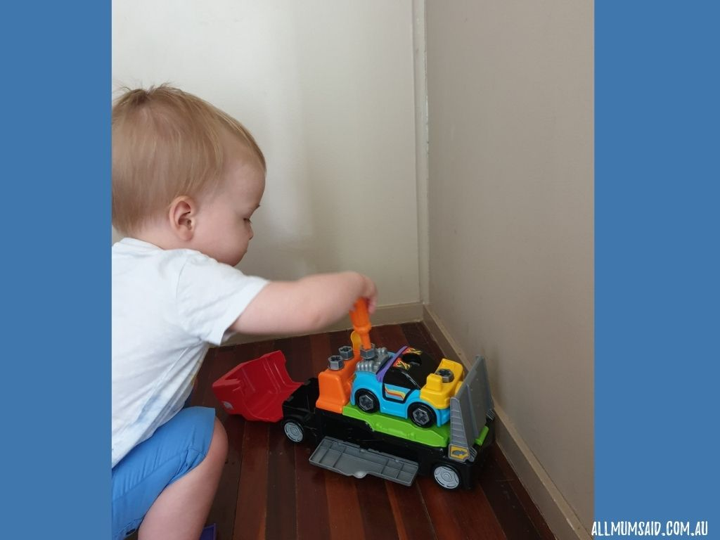 Vtech Fix & Learn Car Carrier