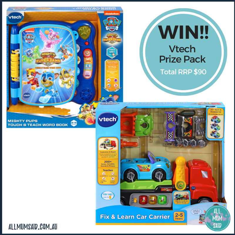 WIN Vtech toddler prize pack
